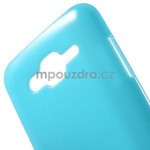 Světle modrý gélový kryt pre Samsung Galaxy J5 - 4