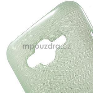 Brúsený gélový obal pre Samsung Galaxy J5 - azúrový - 4