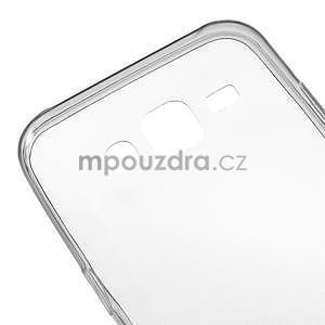 Ultra tenký slim gélový obal pro Samsung Galaxy J5 - šedý - 4