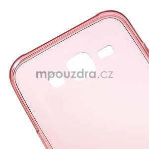 Ultra tenký slim gélový obal pro Samsung Galaxy J5 - červený - 4