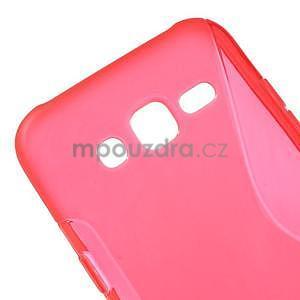 S-line gelový kryt na Samsung Galaxy J5 - červený - 4