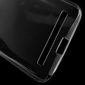 Ultra Tenký slim obal pre Asus Zenfone 2 Laser - transparentný - 4