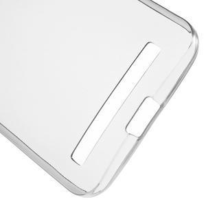 Ultra Tenký slim obal na Asus Zenfone 2 Laser - šedý - 4