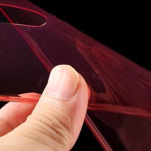 Ultra Tenký slim obal na Asus Zenfone 2 Laser - červený - 4