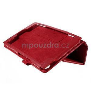 Koženkové puzdro na tablet Asus ZenPad 7.0 Z370CG - červené - 4