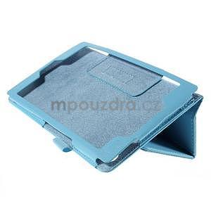Koženkové puzdro na tablet Asus ZenPad 7.0 Z370CG - svetlomodrý - 4