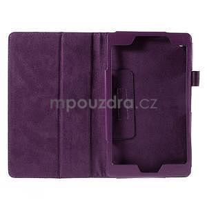 Koženkové puzdro na tablet Asus ZenPad 7.0 Z370CG - fialové - 4