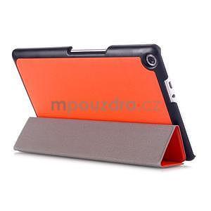 Trojpolohové puzdro na tablet Asus ZenPad 8.0 Z380C - oranžové - 4