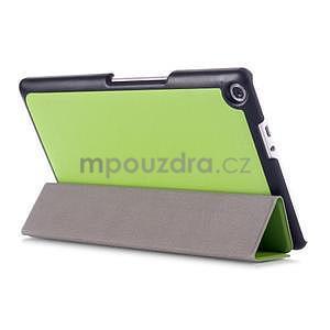 Trojpolohové puzdro pre tablet Asus ZenPad 8.0 Z380C - zelené - 4