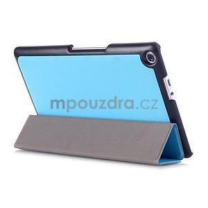 Trojpolohové puzdro na tablet Asus ZenPad 8.0 Z380C - svetlemodré - 4