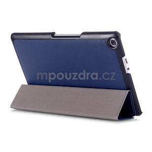 Trojpolohové puzdro pre tablet Asus ZenPad 8.0 Z380C - tmavomodré - 4