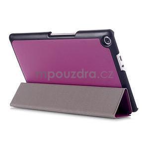 Trojpolohové puzdro na tablet Asus ZenPad 8.0 Z380C - fialové - 4