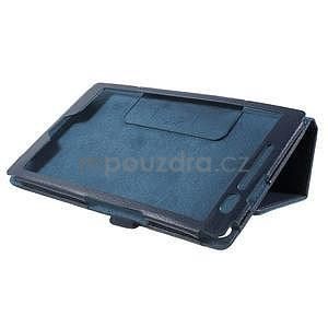 Safety polohovateľné puzdro pre tablet Asus ZenPad 8.0 Z380C - tmavomodré - 4