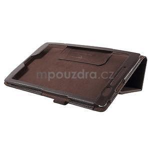 Safety polohovateľné puzdro pre tablet Asus ZenPad 8.0 Z380C - hnedé - 4