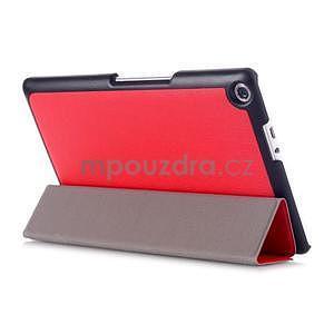 Trojpolohové puzdro na tablet Asus ZenPad 8.0 Z380C - červené - 4