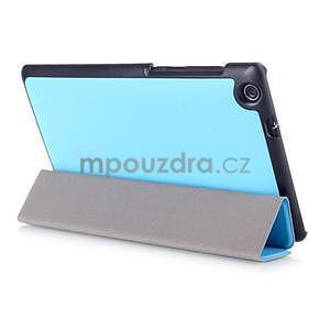 Trifold puzdro na tablet Asus ZenPad C 7.0 Z170MG - svetlemodré - 4