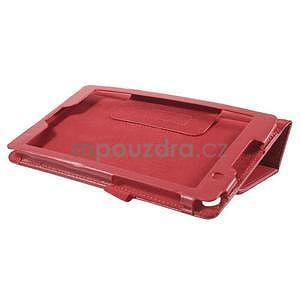 Safety koženkové puzdro na Asus ZenPad C 7.0 Z170MG - červené - 4