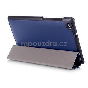 Trifold puzdro na tablet Asus ZenPad C 7.0 Z170MG - tmavomodré - 4