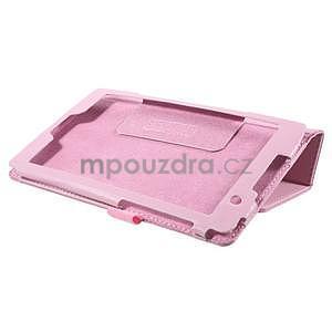 Safety koženkové puzdro pre Asus ZenPad C 7.0 Z170MG - ružové - 4