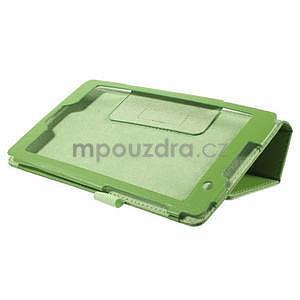 Safety koženkové puzdro na Asus ZenPad C 7.0 Z170MG - zelené - 4