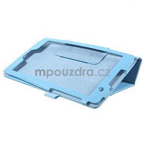 Safety koženkové puzdro na Asus ZenPad C 7.0 Z170MG - svetlomodré - 4