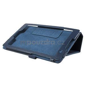 Safety koženkové puzdro pre Asus ZenPad C 7.0 Z170MG - tmavomodré - 4