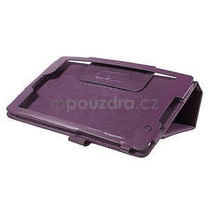 Safety koženkové puzdro na Asus ZenPad C 7.0 Z170MG - fialové - 4