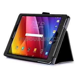 Polohovatelné koženkové puzdro na tablet Asus ZenPad S 8.0 -  čierne - 4