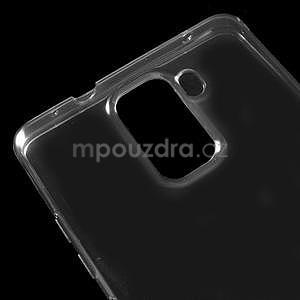 Transparentný gélový obal pre telefón Honor 7 - šedý - 4