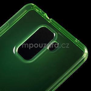 Transparentný gélový obal pre telefón Honor 7 - zelený - 4