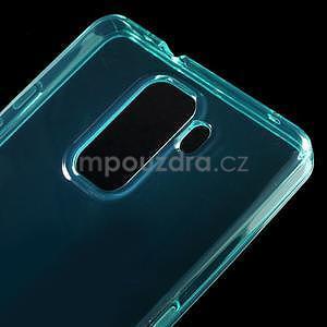 Transparentný gélový obal na telefón Honor 7 - azurový - 4