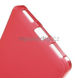 Červené gélové puzdro na mobil Honor 7 - 4