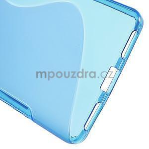 Modrý gélový kryt S-line na Huawei Honor 7 - 4