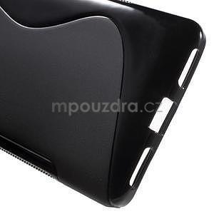 Čierny gélový kryt S-line pre Huawei Honor 7 - 4