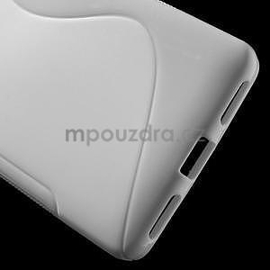 Biely gélový kryt S-line na Huawei Honor 7 - 4