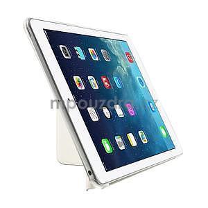 Origami ochranné puzdro pre Apple iPad Air - biele - 4