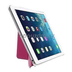 Origami ochranné puzdro pre Apple iPad Air - rose - 4
