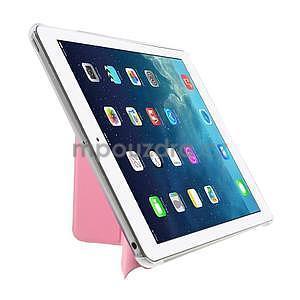 Origami ochranné puzdro pre Apple iPad Air - ružové - 4