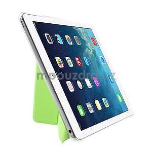 Origami ochranné puzdro na Apple iPad Air - zelené - 4