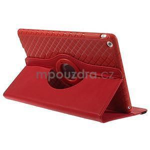 Circ otočné puzdro na Apple iPad Air - červené - 4