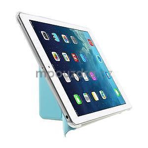 Origami ochranné puzdro pre Apple iPad Air - svetlomodré - 4