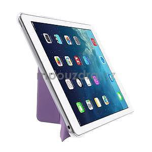 Origami ochranné puzdro na Apple iPad Air - fialové - 4
