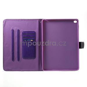 Daffi elegantné puzdro pre iPad Air 2 - fialové - 4