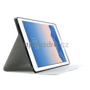 Elegant polohovateľné puzdro pre iPad Air 2 -  biele - 4