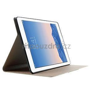 Elegant polohovateľné puzdro pre iPad Air 2 -  champagne - 4