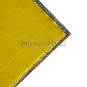 Envelope univerzálne púzdro na tablet 26.7 x 20 cm - žlté - 4