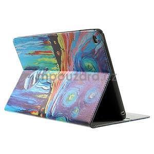 Paint štýlové puzdro pre iPad Air 2 - loďka - 4