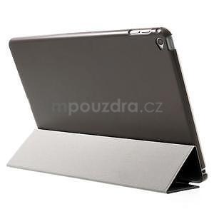 Trifold polohovateľné puzdro na iPad Air 2 - čierne - 4