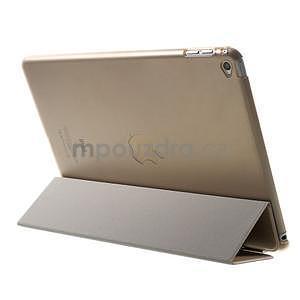 Trifold polohovateľné puzdro pre iPad Air 2 - champagne - 4