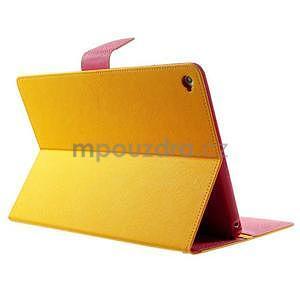 Excelent Diary puzdro pre iPad Air 2 - oranžový - 4